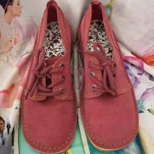 Rampage Legend Pink Suede Loafers Size 8